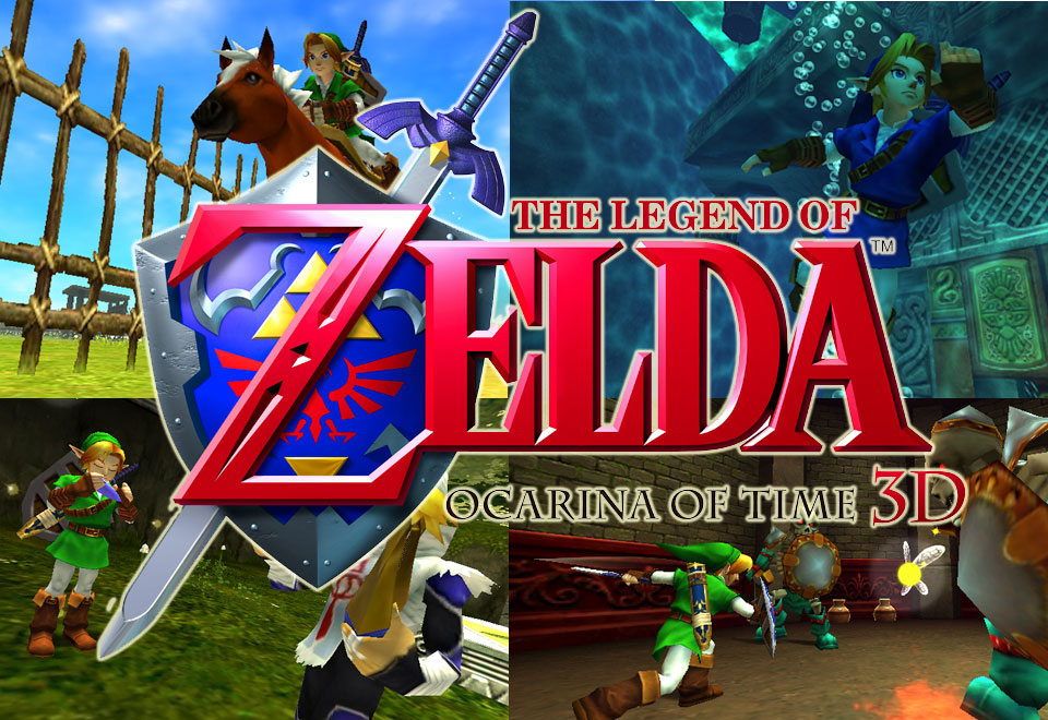 The Legend Of Zelda Ocarina Of Time 3ds Review