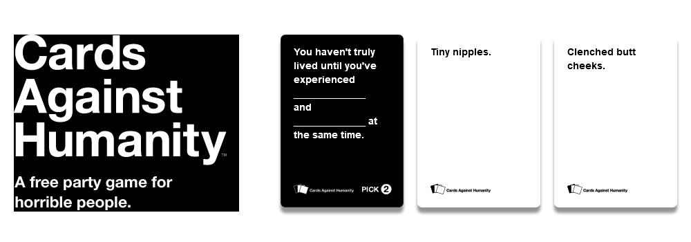Cards Against Humanity Review Invision Game Community