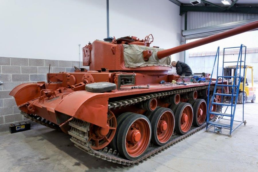 Wargaming To Support Series Of Crucial Restorations At The
