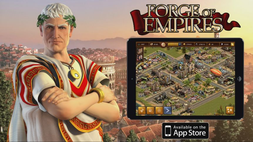 Forge of Empires launches for iPad | Invision Game Community