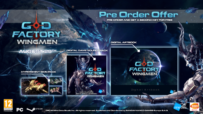 Pre-Order Details for God Factory: Wingmen | Invision Game