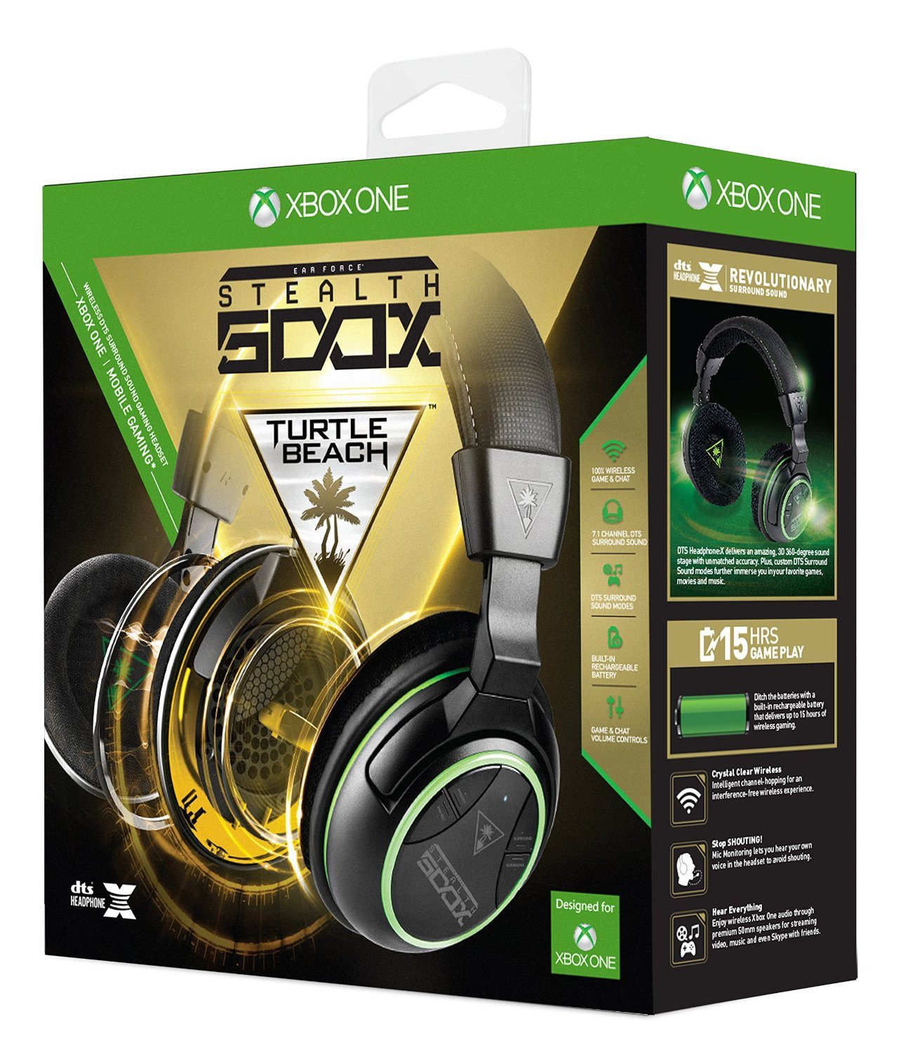 Turtle Beach Stealth 500X Fully Wireless Gaming Headset for the Xbox