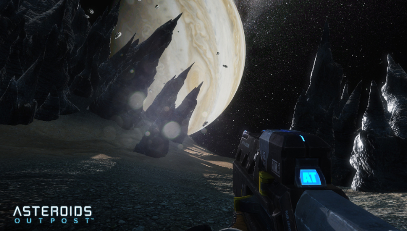 Asteroids Outpost Rifle Screen