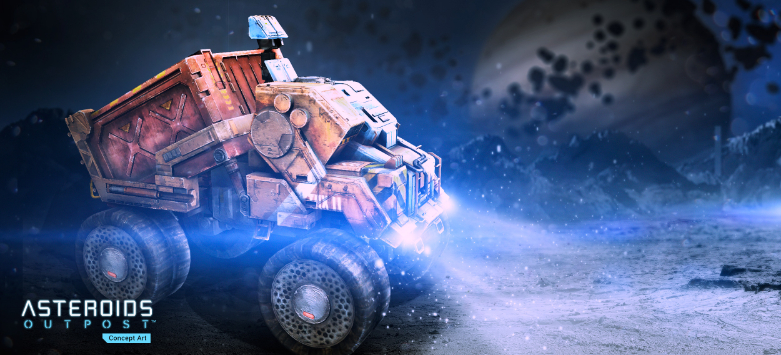 asteroids outpost_Truck Render