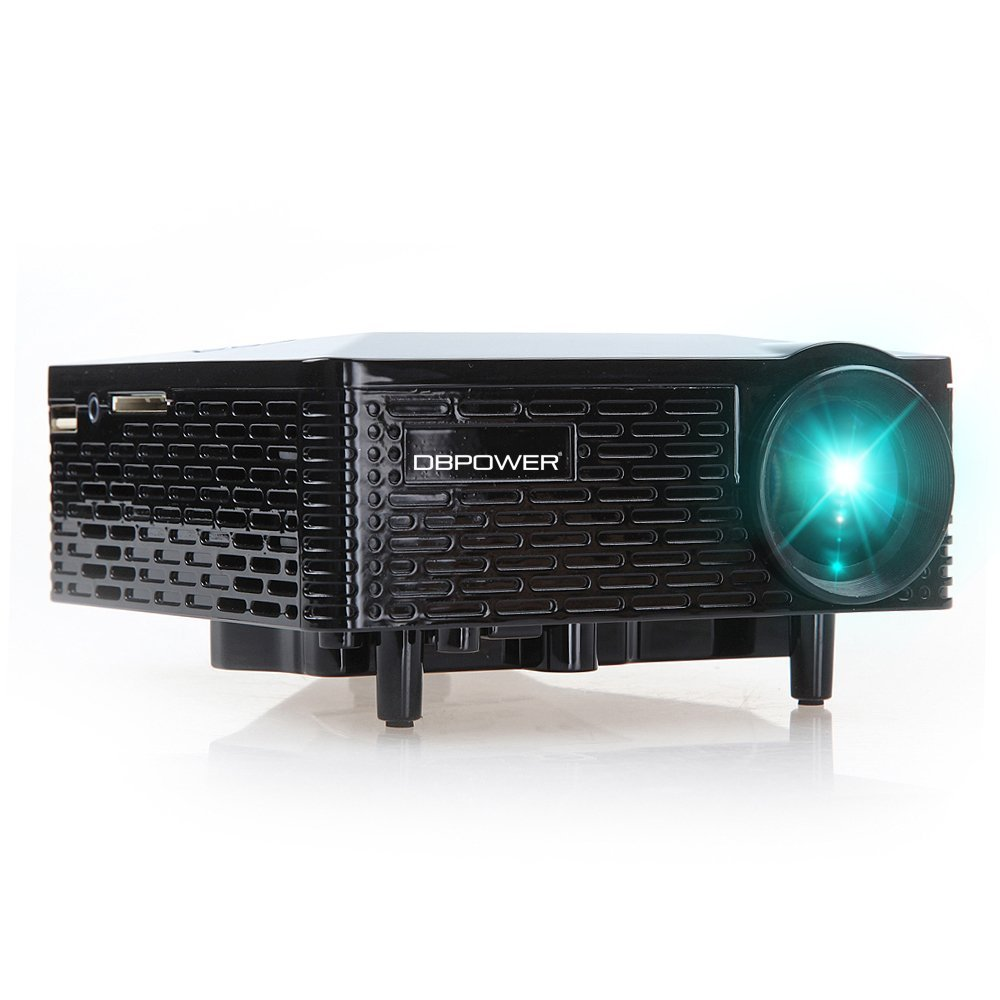 Dbpower bl 18 mini led projector review invision game for Miniature projector