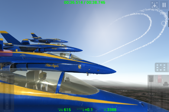 """RORTOS """"BLUE ANGELS - AEROBATIC SIM"""" LAUNCHES FOR iOS AND"""