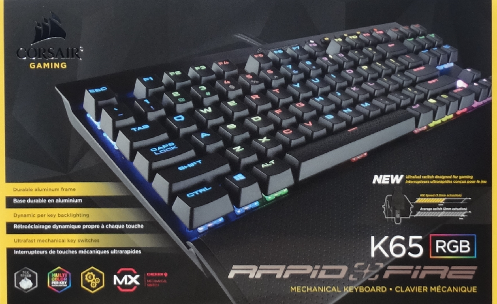 Corsair K65 Rgb Rapidfire Keyboard Review Invision Game