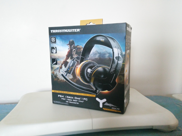 Thrustmaster Y300 CPX Ghost Recon Edition Headset Review