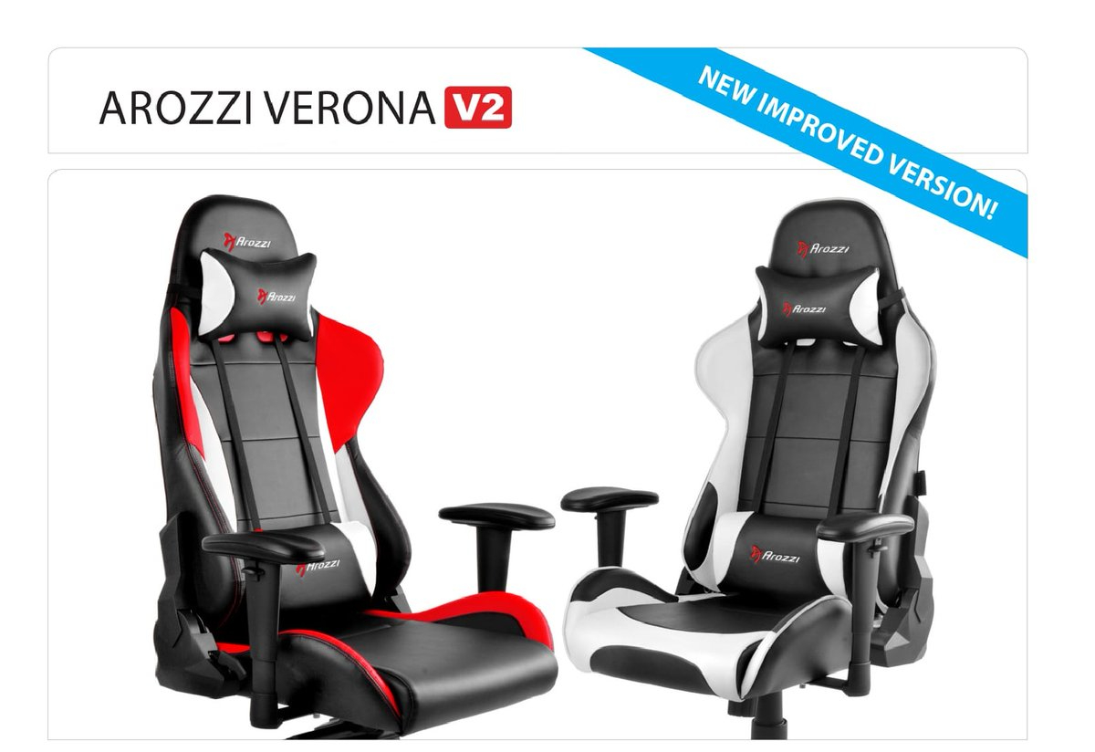 Astounding Arozzi Verona V2 Gaming Chair Review Easy Does It Machost Co Dining Chair Design Ideas Machostcouk