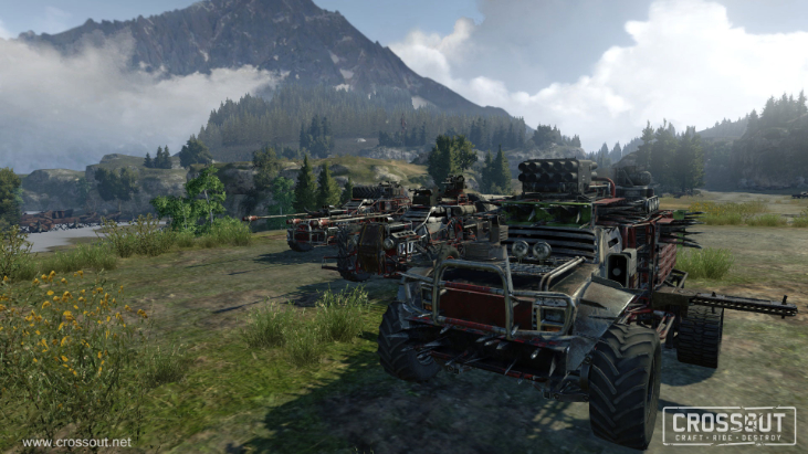 Crossout Review – How to build a war machine in 12 easy steps