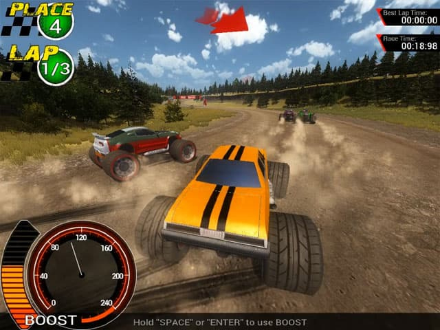 Off-Road Super Racing' On STEAM Offers Monster Truck Madness And