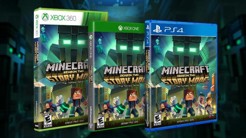 Minecraft Story Mode Season Two Now Available At Retail