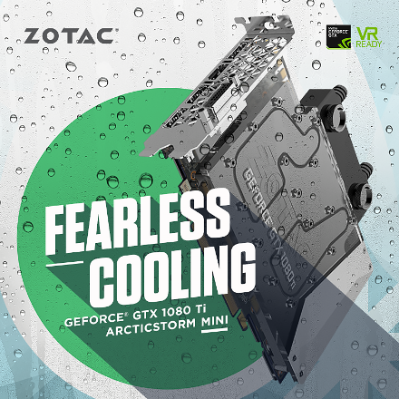 FEARLESS COOLING WITH THE WORLD'S SMALLEST GEFORCE GTX 1080