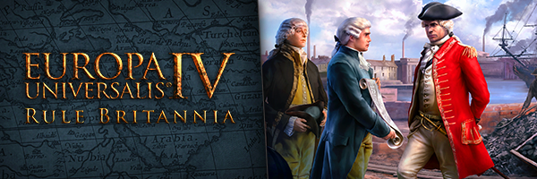 Paradox Announces Rule Britannia Immersion Pack for EU4