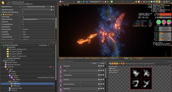 New Super VFX for Realtime Animation - PopcornFX Plug-in for