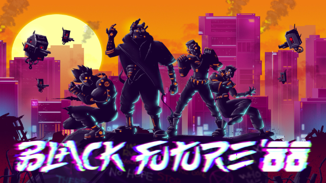 Black Future 88 Heading To Pc This Year Invision Game