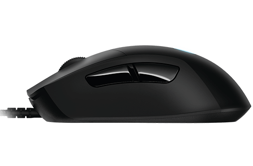 f7d78e7f4ab So after pulling the mouse out of its simple plastic packaging it became  clear that the G403 design is emulating the Razer DeathAdder quite heavily.