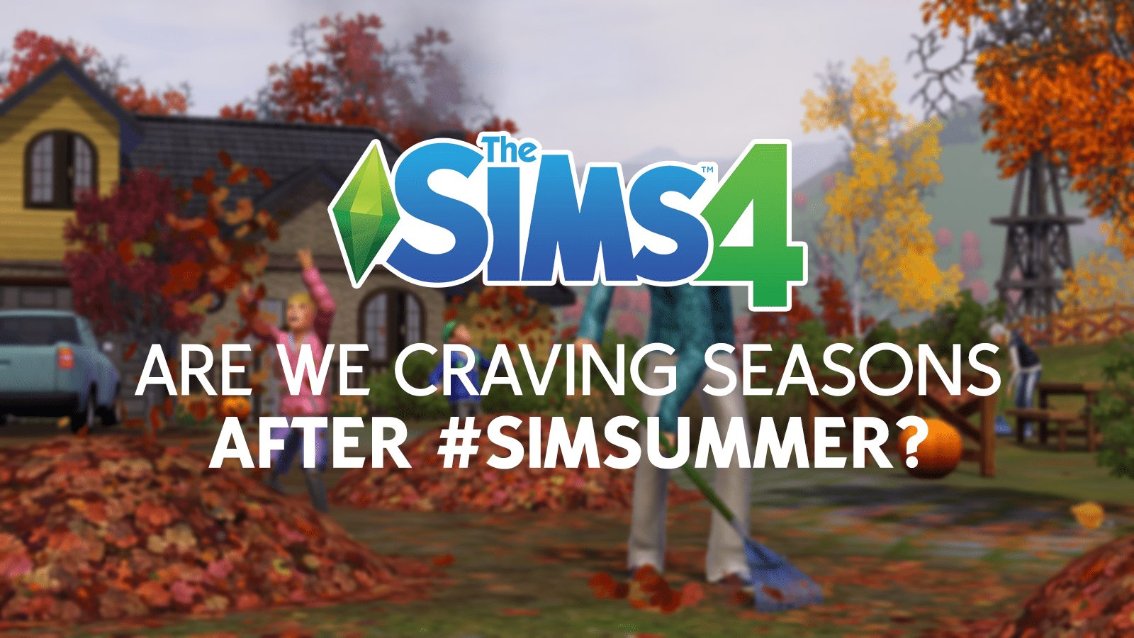 The Sims 4 Seasons Expansion Announced
