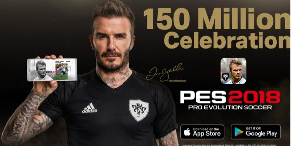 Konami Celebrates 150 million download worldwide for PES