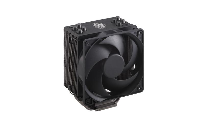 cooler master hyper 212 rgb black edition extra fan