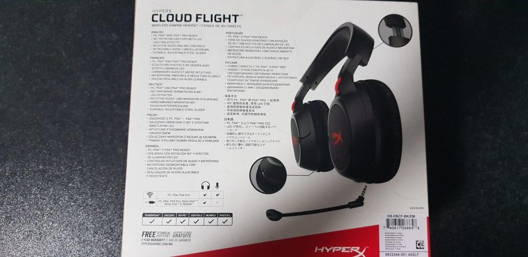 HyperX Cloud Flight - Wireless Gaming Headset Review