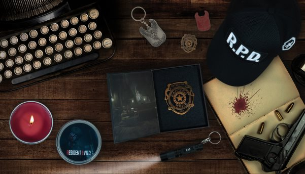 f213547af2657 Capcom and Numskull Designs have announced the official Resident Evil 2  merchandise range