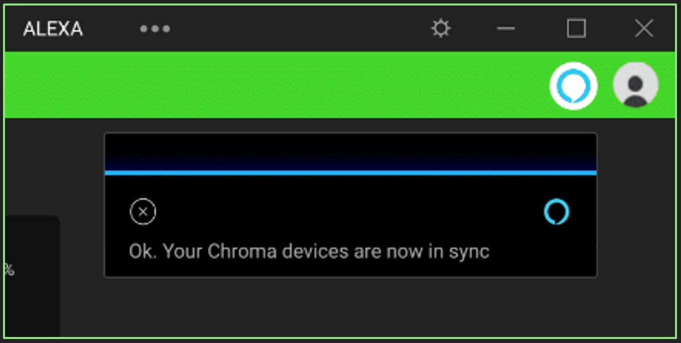 Razer Chroma Now Works with Amazon Alexa | Invision Game