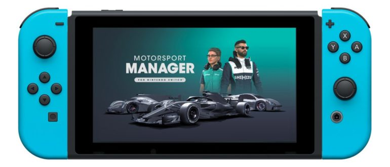Motorsport Manager Launches onto the Nintendo Switch