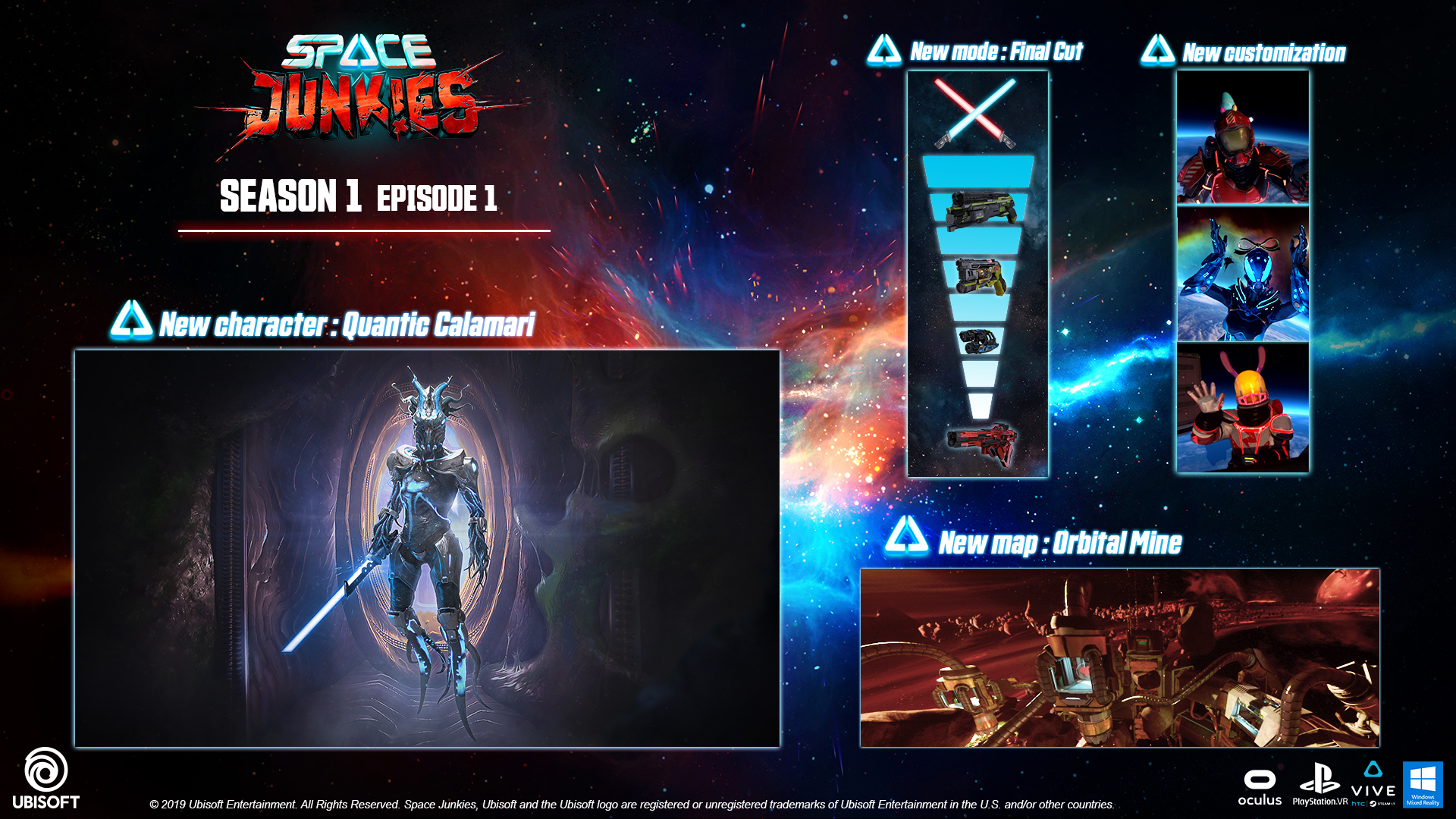 Space Junkies Free Update Introduces New Mode, Map and