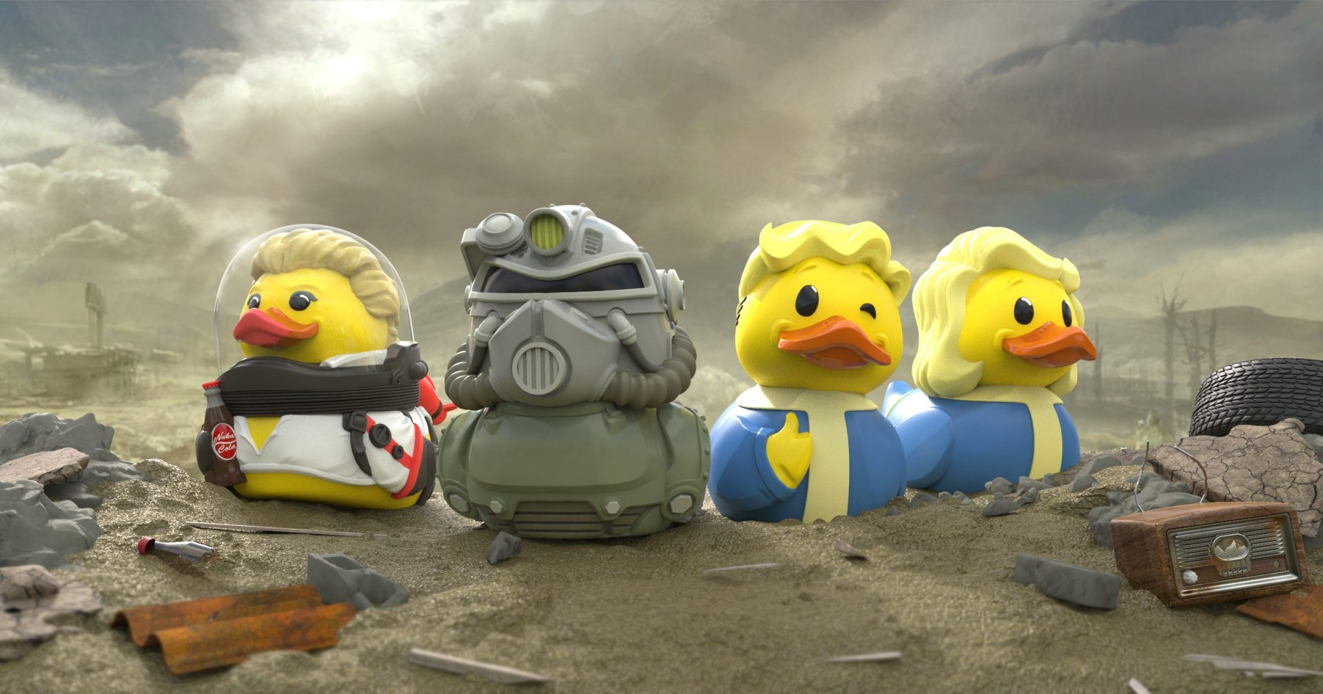 884bb35e85c Numskull introduce TUBBZ The Collectable Cosplaying Ducks | Invision ...