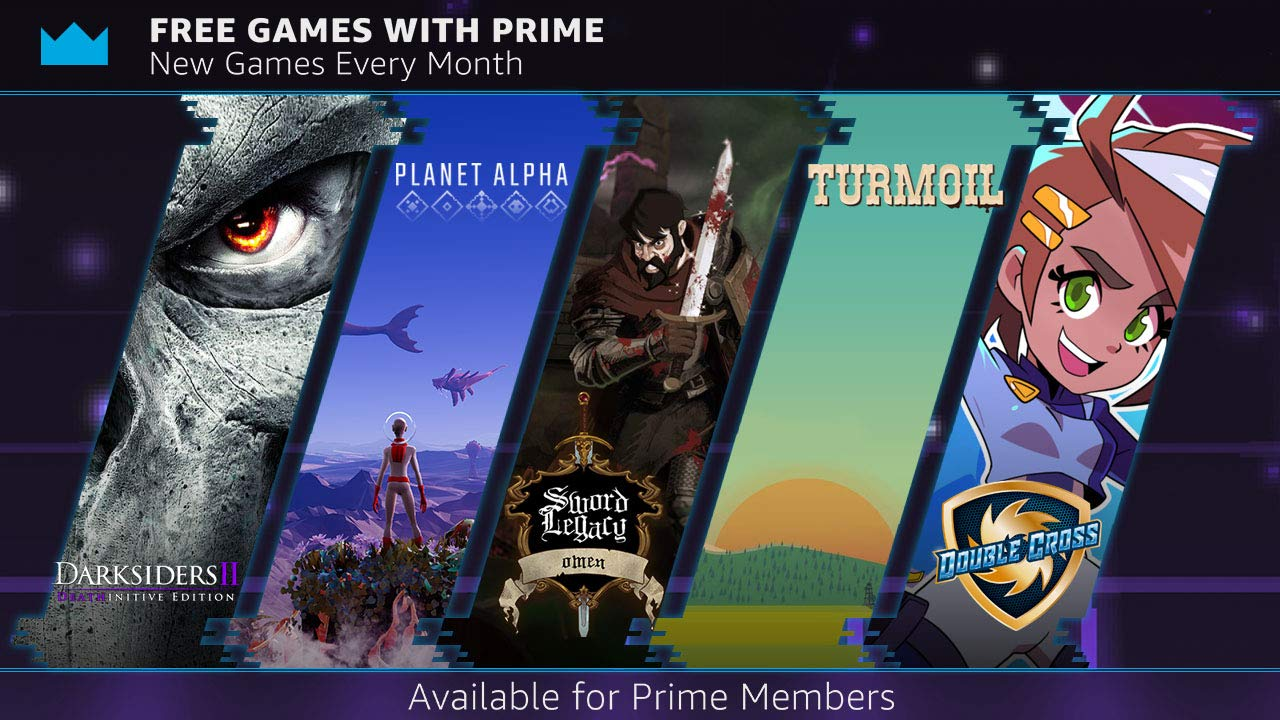 Twitch Prime Free Games for November