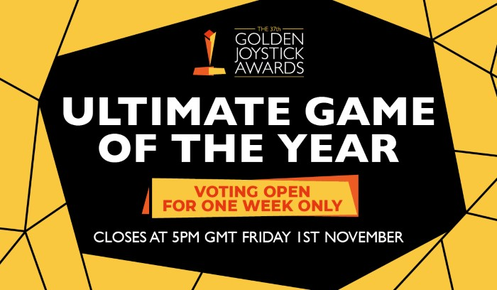Golden Joystick Awards Ultimate Game of the Year