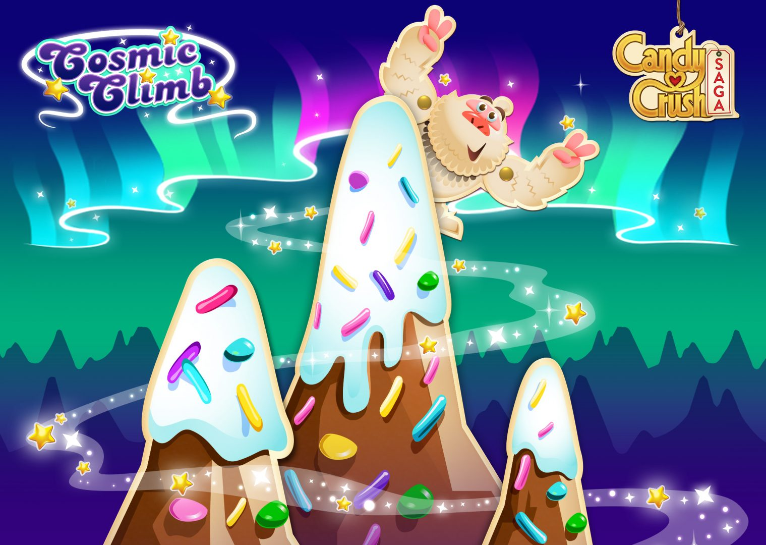 Candy Crush Cosmic Climb