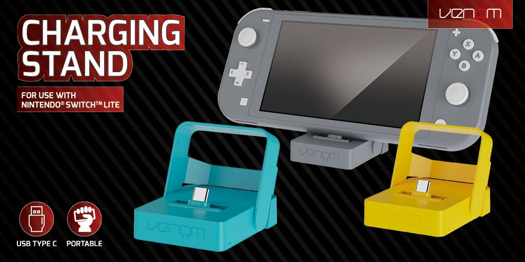 Venom Nintendo Switch Lite charging Stand