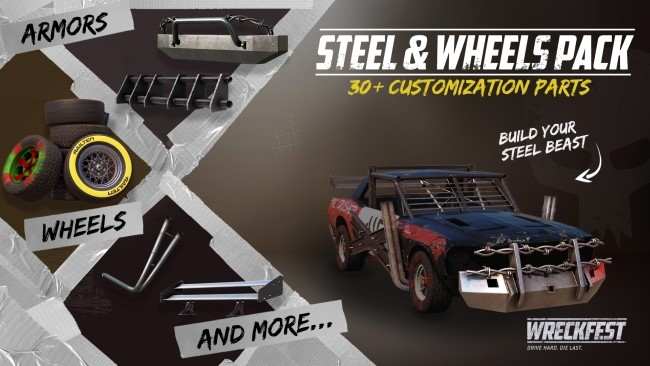 Wreckfest Steel & Wheels