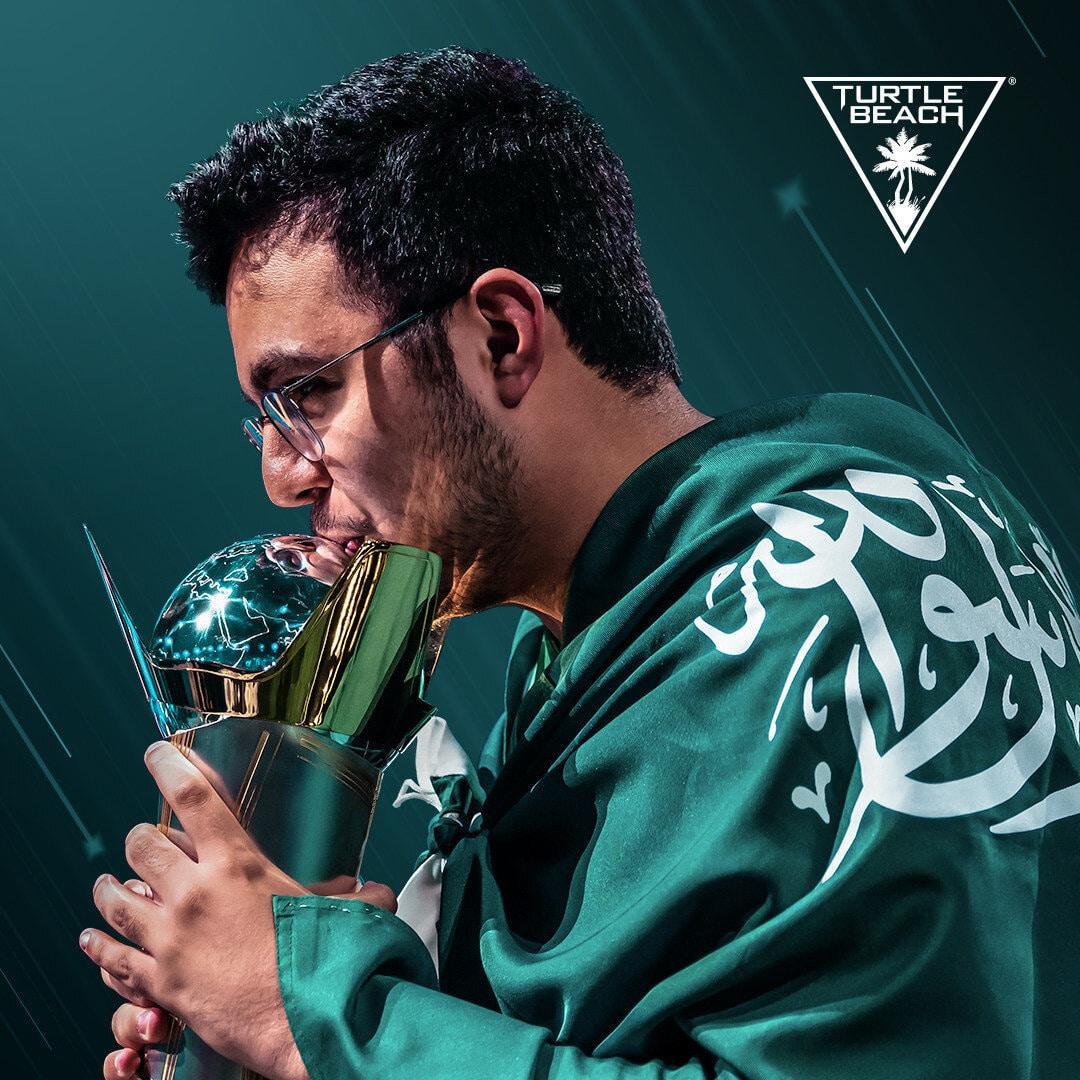 FIFA champion Mossad Aldossary