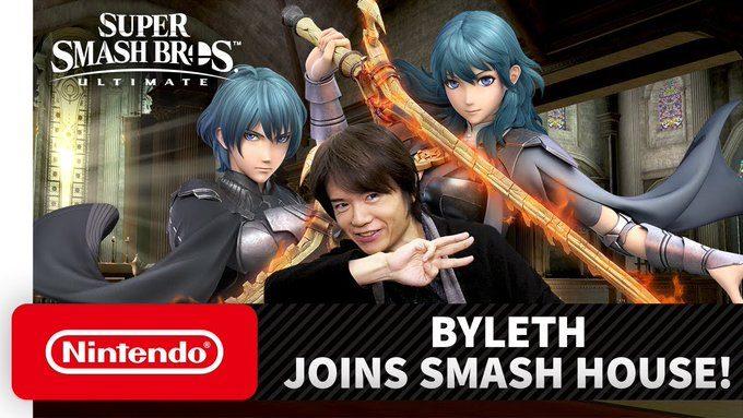 Byleth Super Smash Bros. Ultimate