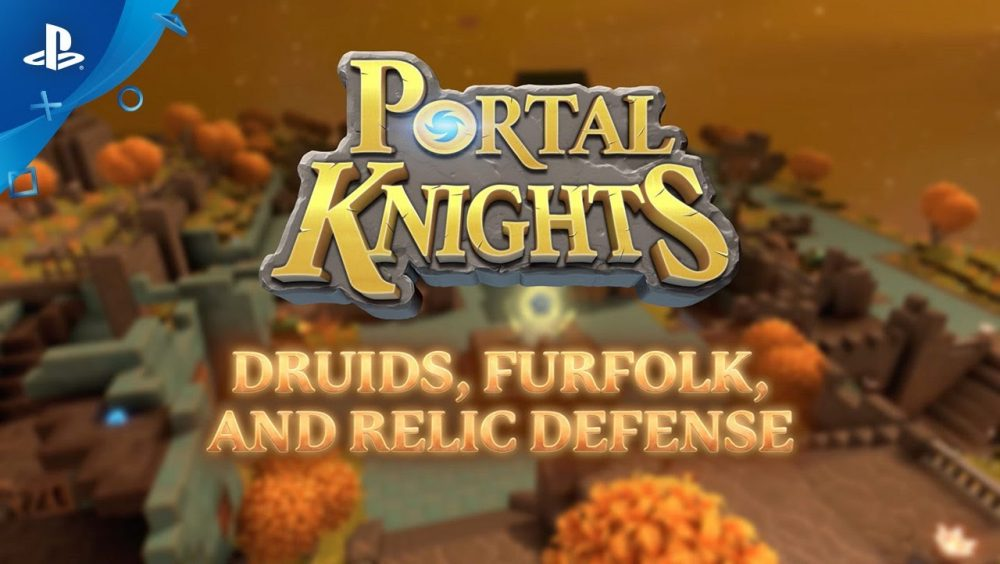 Portal Knights Druids, Furfolk and Relic Defense