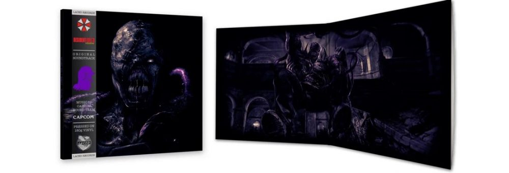 Resident Evil 3 Nemesis (original PlayStation) soundtrack on vinyl