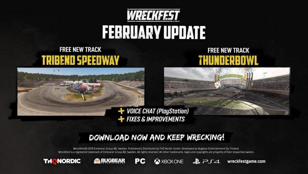 The Wreckfest February Update