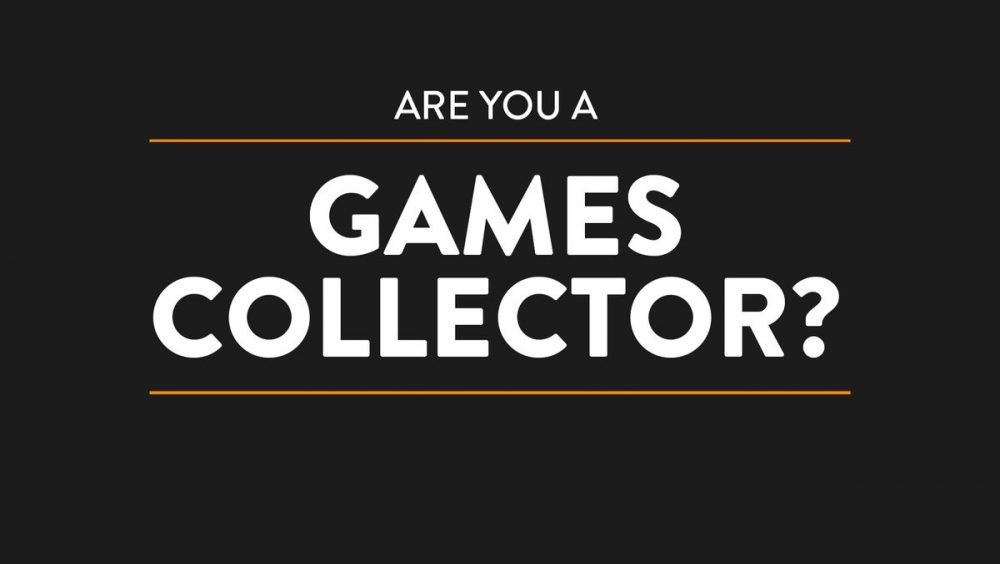 are you a games collector