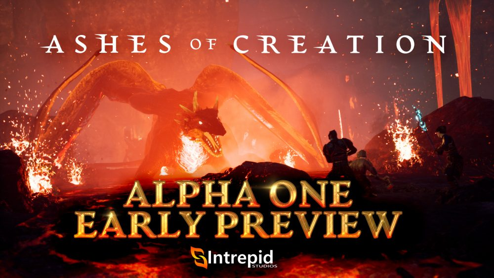 Ashes of Creation Alpha One