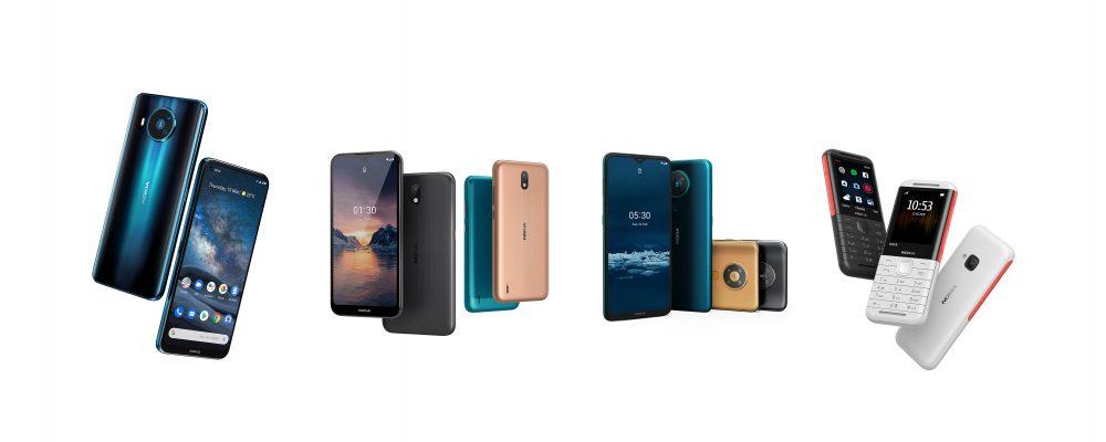 5G Nokia smartphone