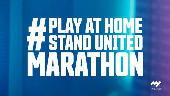 #PlayAtHomeStandUnited