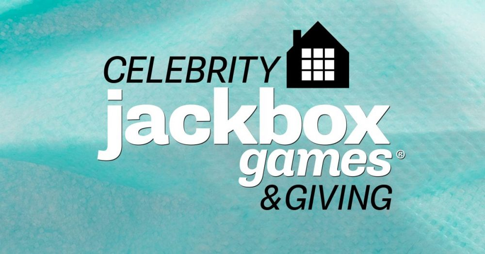 Celebrity Jackbox: Games & Giving