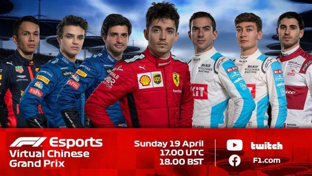 F1 Podium in Virtial Grand Prix