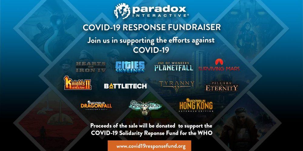 Paradox Interactive steam COVID 19