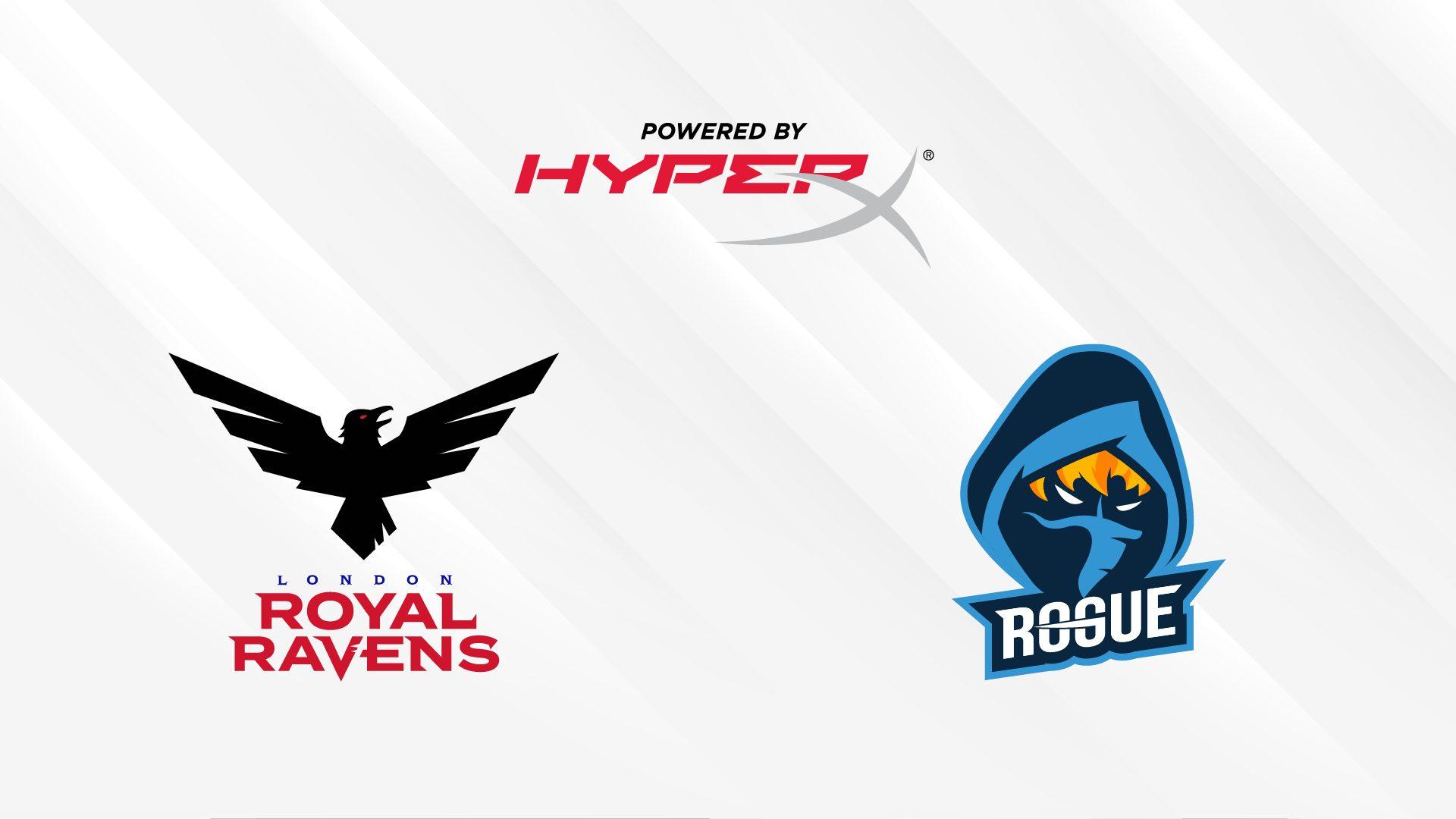 HyperX, Rogue , London Royal Ravens