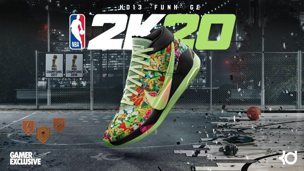 NBA2K MyPlayer Nation GE - KD13 'Funk' - Hero