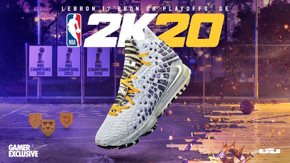 NBA2K MyPlayer Nation GE - LeBron 17 'Bron 2K Playoffs'